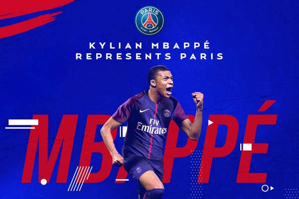 Mbappe Joins PSG On Loan From Monaco, For £166m Permanent Transfer Next Summer