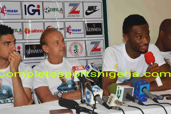 Mikel: We Are Condemned To Beat Cameroon