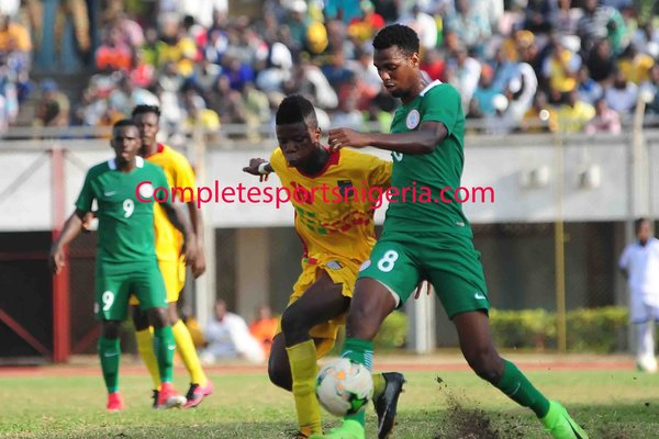 Home Eagles Outscore Benin Republic To Grab CHAN Ticket