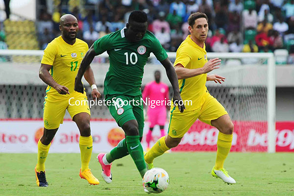 Odey Confident Nigeria Will Beat Benin; Hopes To Start, Score In Kano