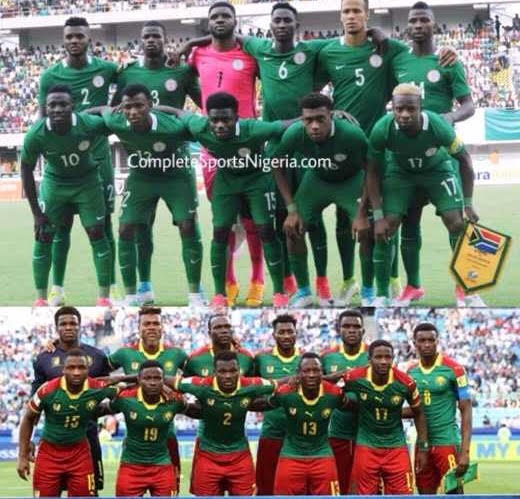 NIGERIA 10 – 4 CAMEROON: Eagles Look To Extend Head-To-Head Dominance Over Lions