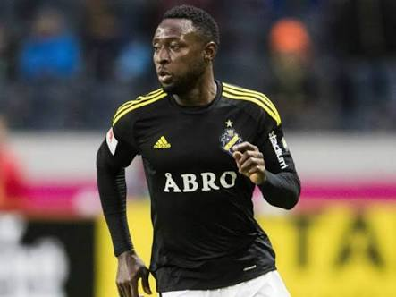 Obasi Appreciates AIK Fans After Hitting Brace In Swedish League Clash