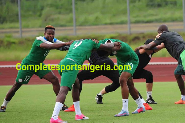Onazi Relishes 'Great Feeling' Of Representing Nigeria Ahead Cameroon Clash