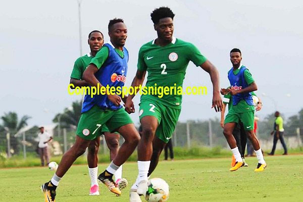 Aina Eager  For Super Eagles Vs Chipolopolo Clash
