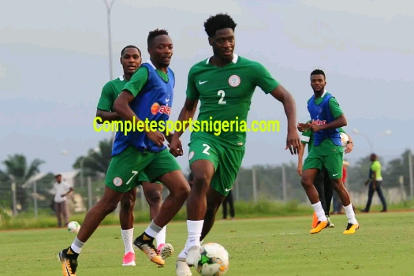 Ola Aina, Alampasu Shine In Eagles Training