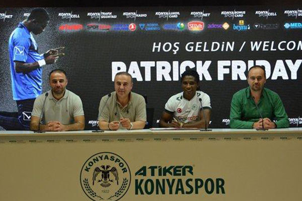 Eze Joins Konyaspor On 3 Year Deal‎ From Saudi Club Fujairah