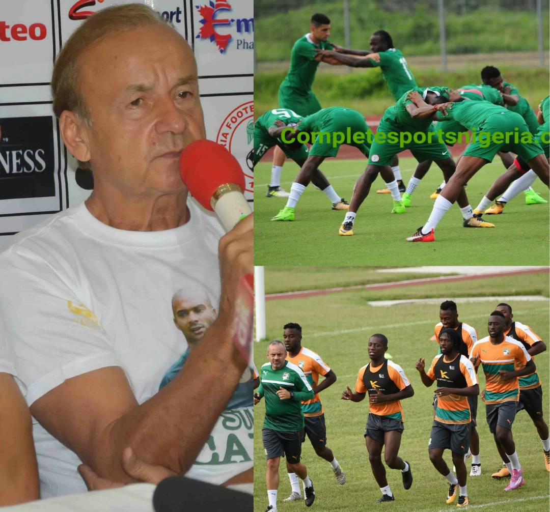 Rohr: How I will Play 'Physical' Cameroon