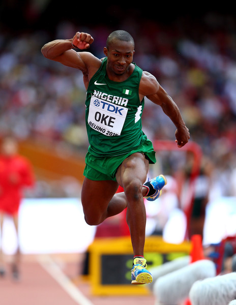 IAAF Worlds: Nigeria's Nathaniel Reaches 400m Hurdles Semis, Oke Crashes Out