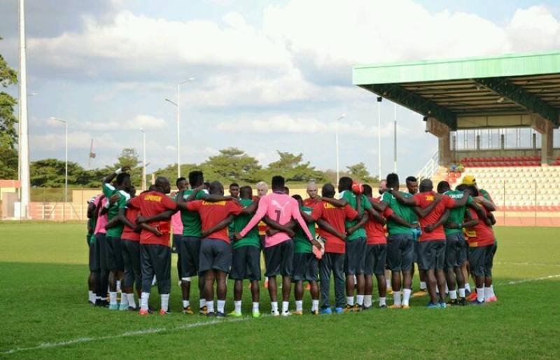 In Pictures: Cameroon's Training Session In Yaounde