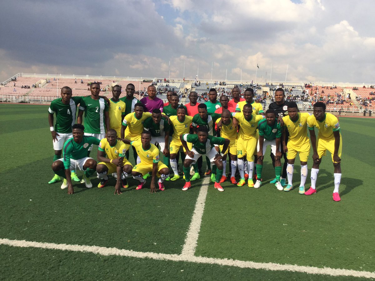 Home Eagles Draw With Kano XI Ahead Of CHAN Qualifier