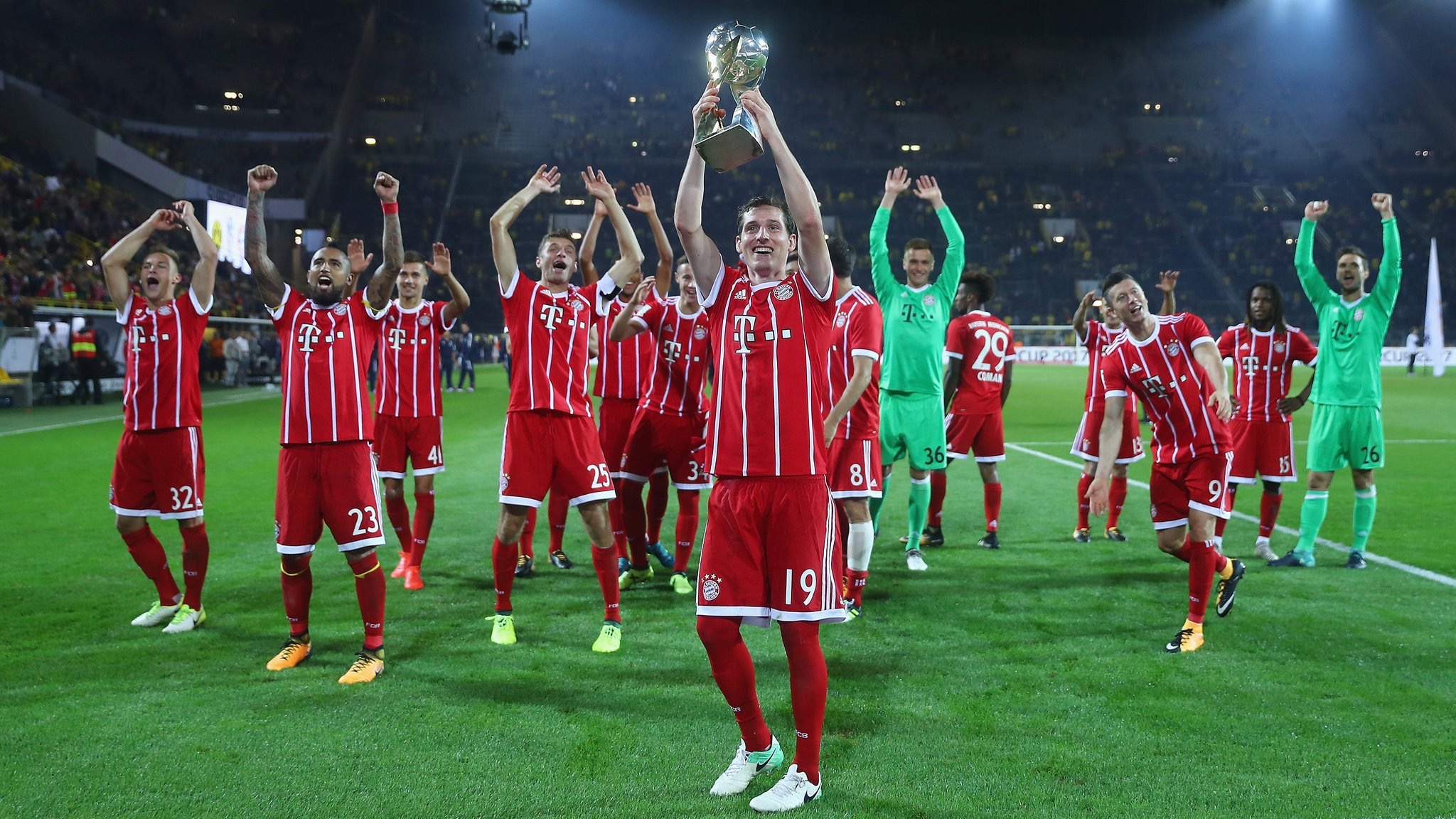 Bayern Edge Dortmund On penalties To Win 6th German Super Cup