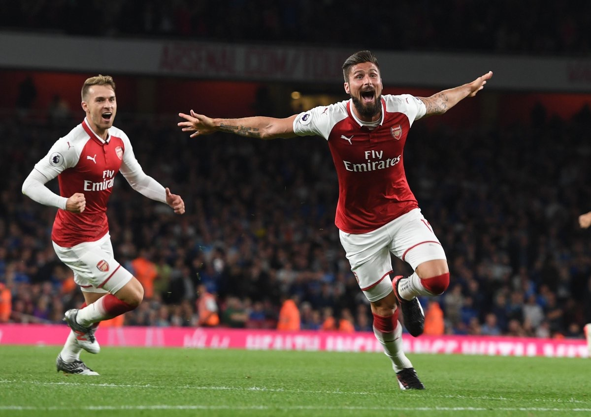 Wenger Hails Giroud's Impact, Arsenal Character In Comeback Win Vs Leicester