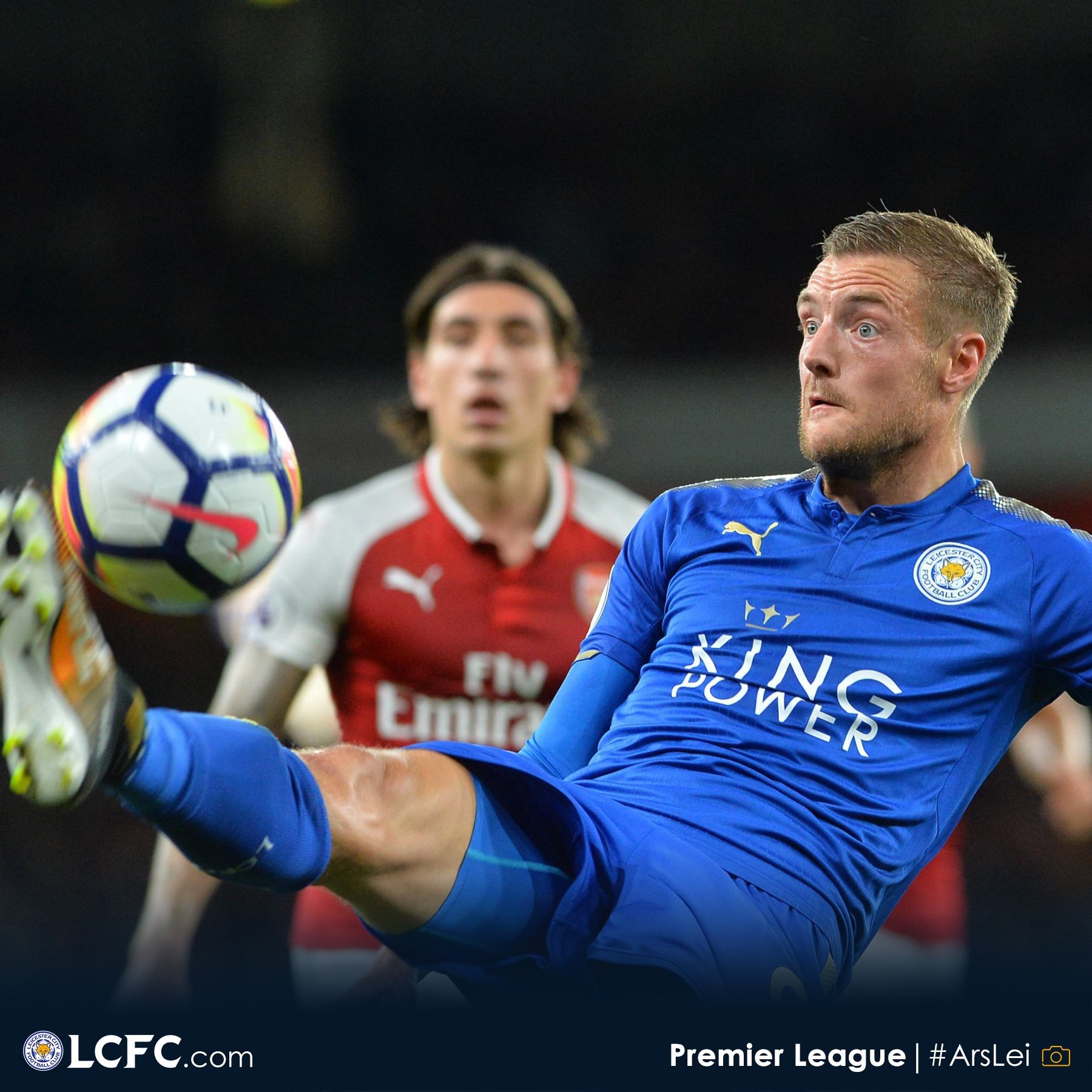 Vardy: Loss Of  Concentration Cost Leicester Three Points Vs Arsenal