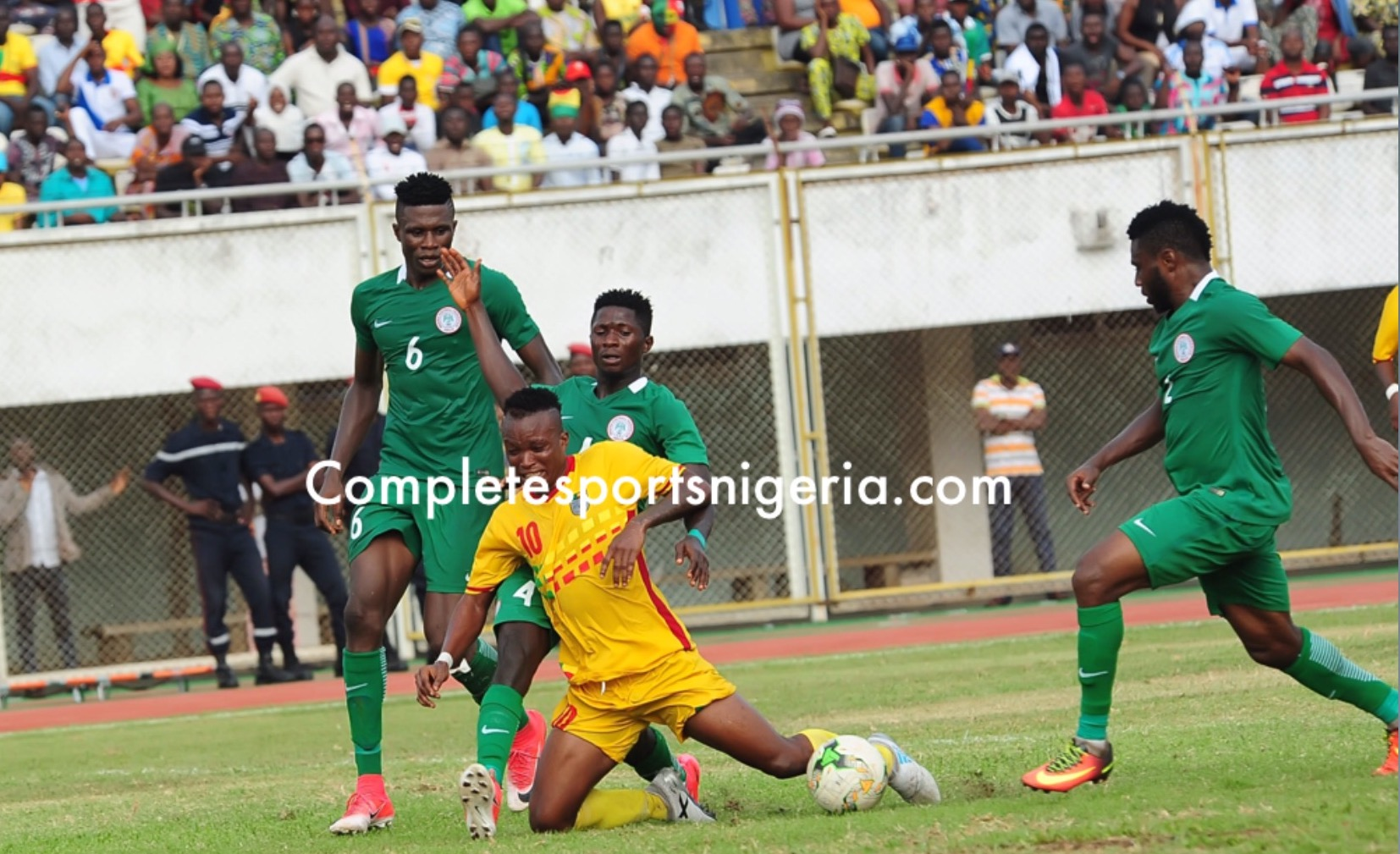 Penalty Kick Culprit Aremu Confident Home Eagles Will Edge Benin Republic On Aggregate