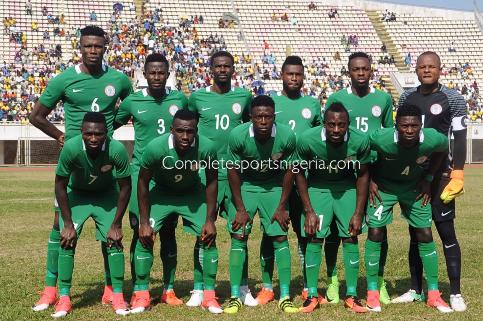 CHAN Super Eagles To Depart Cotonou For Nigeria Monday