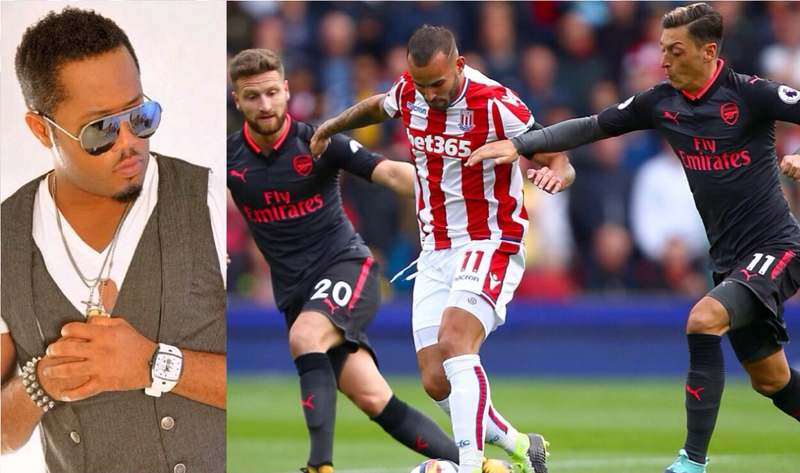 Arsenal Fan Ezuruonye Bemoans Gunners'  Setback Vs Stoke, Wants Wenger To Sign Carvalho