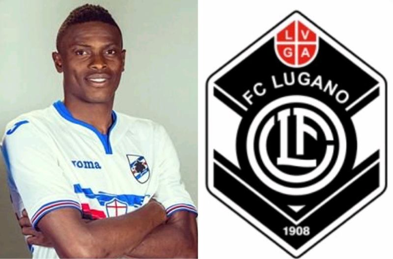 Amuzie Completes Loan Switch To FC Lugano From Sampdoria