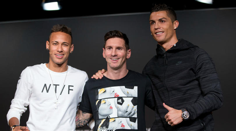 Brazil Coach Claims Neymar Now On Same Level With Messi, Ronaldo In Ballon d'Or Race