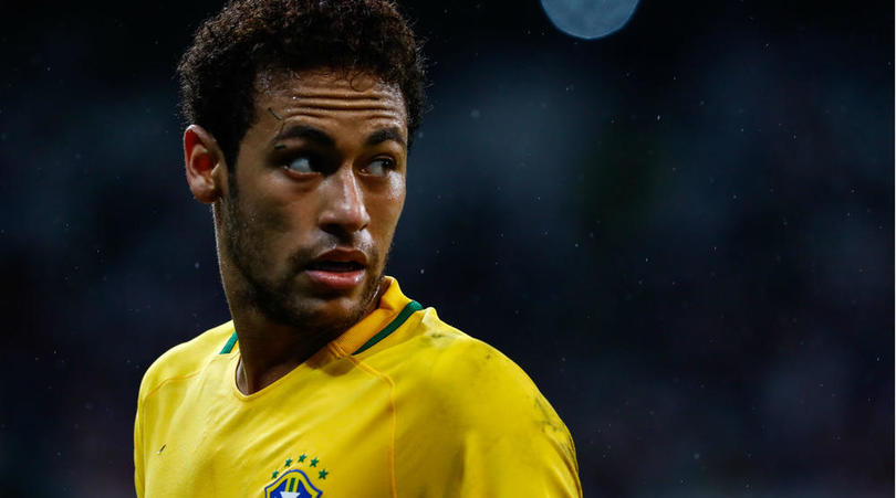 World-Record Buy Neymar In Brazil Squad Vs Ecuador, David Luiz Missing