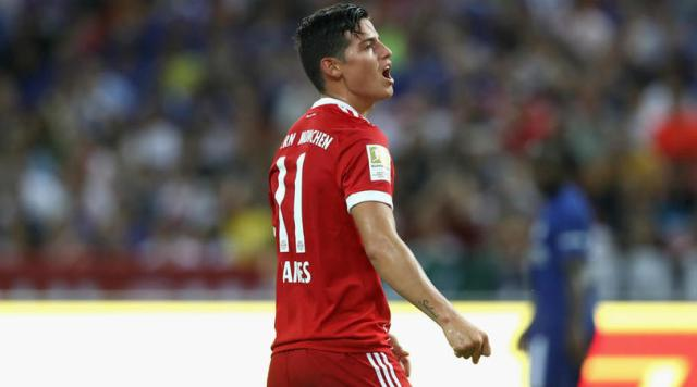 Bayern Suffer Rodriguez Blow, Colombian Out For Weeks With Thigh Injury