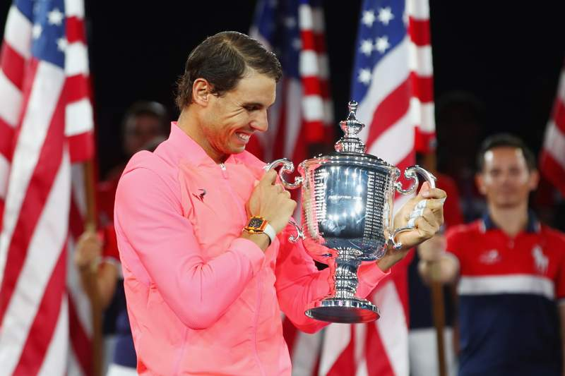 Nadal Wins US Open, Closes In On Federer Record