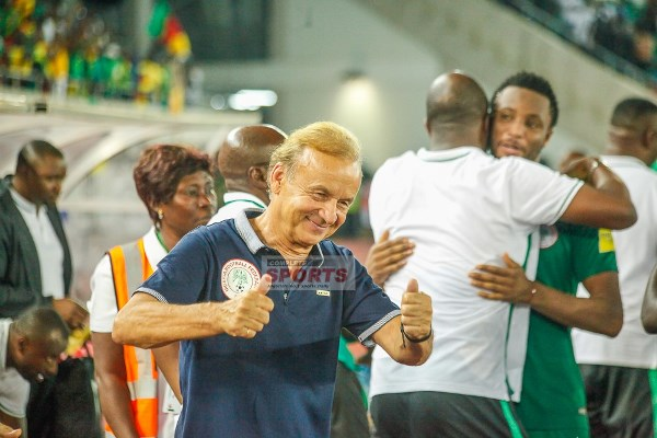 Agali Confident Rohr Will Lead Super Eagles To 2018 World Cup