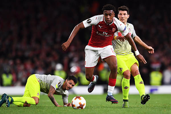 Iwobi Delighted With Arsenal's Europa League Win Vs Cologne