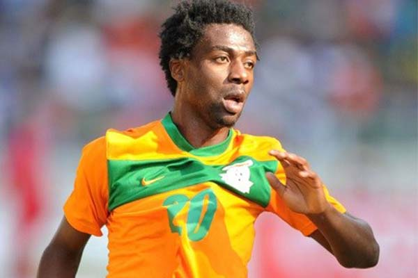 Chipolopolo Striker Ngonga Cautioned By Zambia Police Over Scuffle With Football Fan