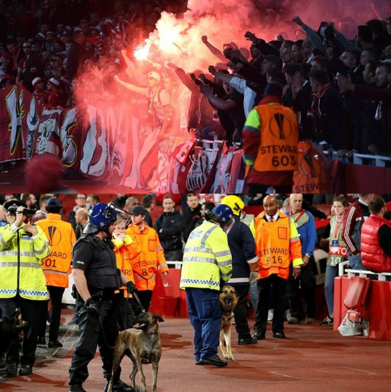 UEFA Charges Arsenal, FC Cologne Over Crowd Trouble