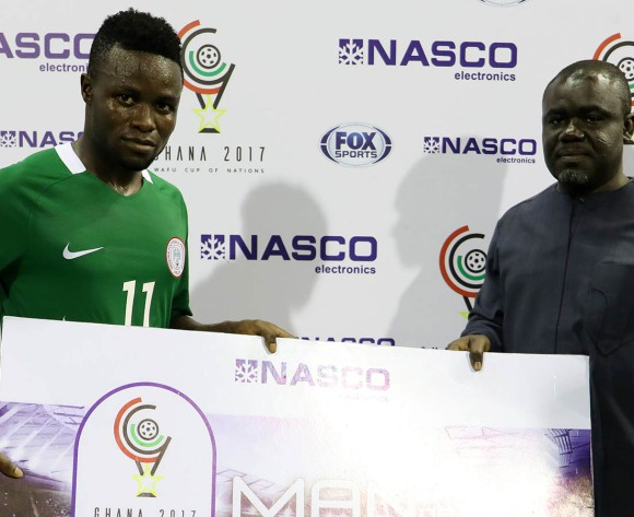 WAFU Cup: Eneji Voted Best Player In Nigeria's Win Vs Ghana