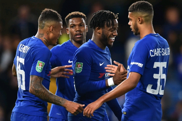 Carabao Cup: Iwobi In Action, Moses Rested As Chelsea, Arsenal, United, City Advance