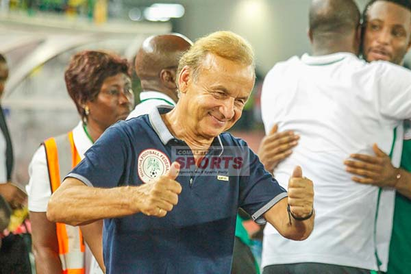 Rohr To Invite Three New Players For Super Eagles Vs Zambia Clash