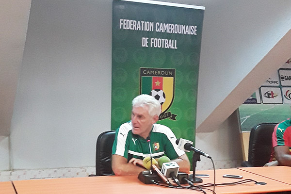 Broos: Cameroon Will Help Nigeria Qualify For World Cup