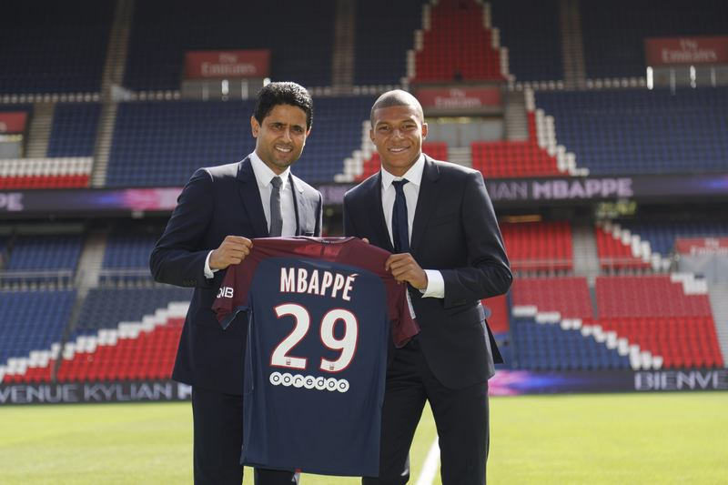 Mbappe Officially Unveiled By PSG, Targets Champions League Title