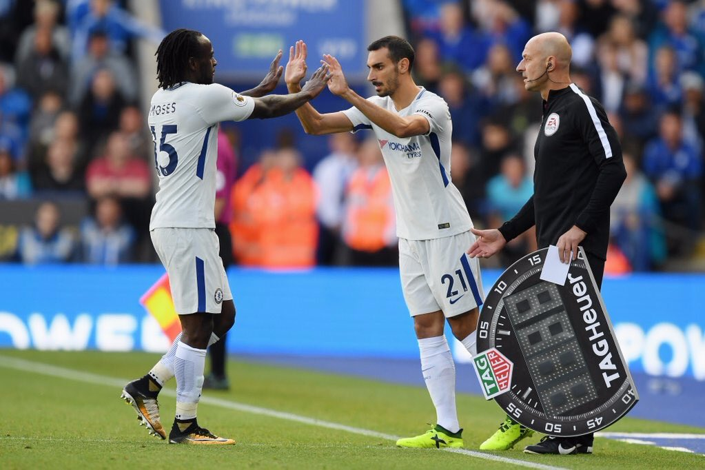Moses, Kante, Morata Get Top Ratings In Chelsea Win Vs Leicester