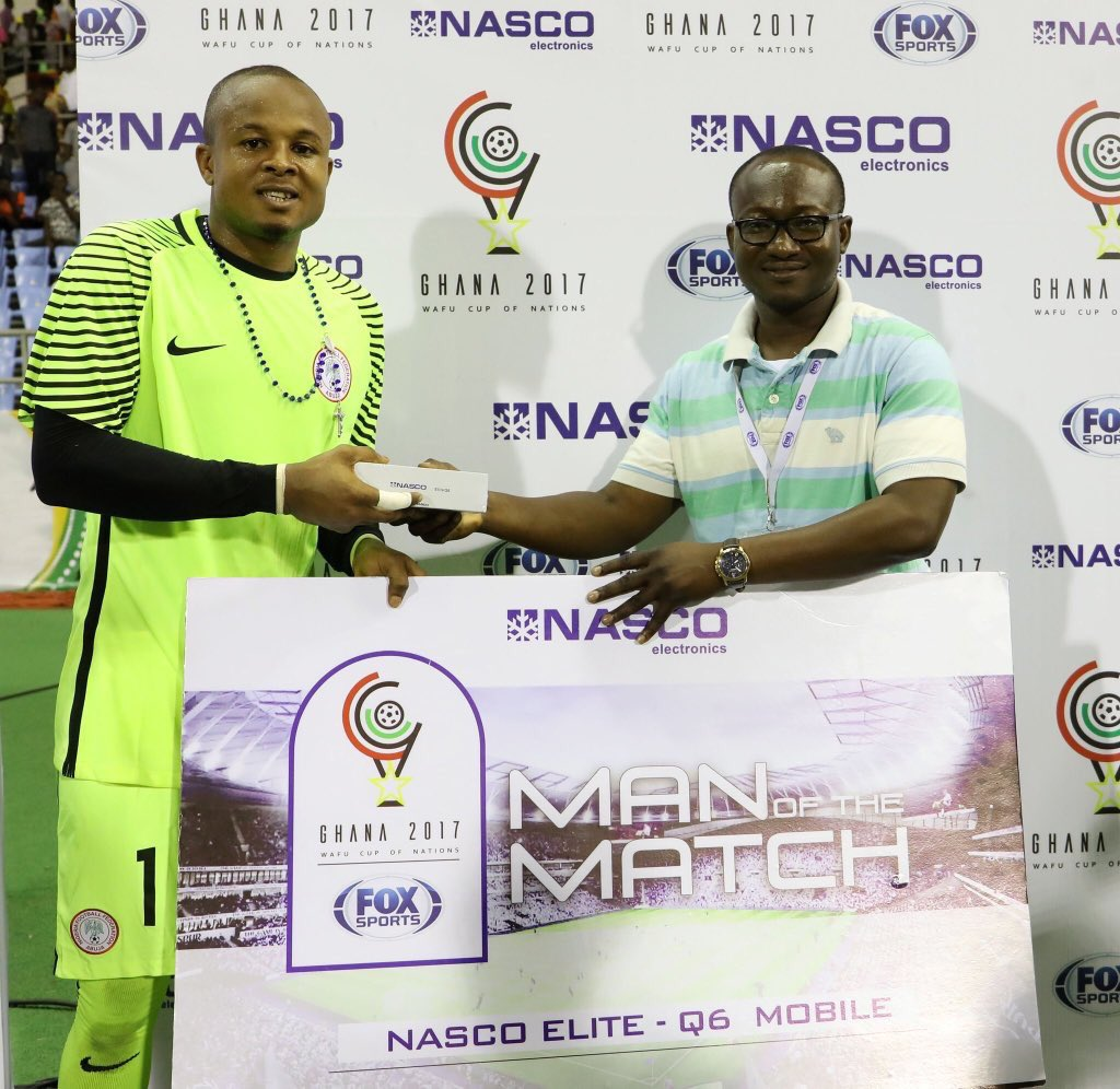 WAFU Cup: Ezenwa Voted Best Player In Super Eagles Win Vs Sierra Leone