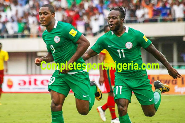 CAMEROON VS NIGERIA: Ighalo Doubtful; Iheanacho, Nwakaeme Set To Replace Him