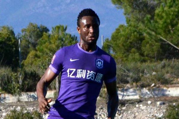 CSL: Mikel Absent As Tianjin TEDA Lose At Shanghai Shenhua