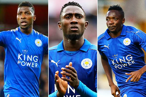 Leicester Eager For Return Of Iheanacho, Ndidi, Musa Ahead Chelsea Clash