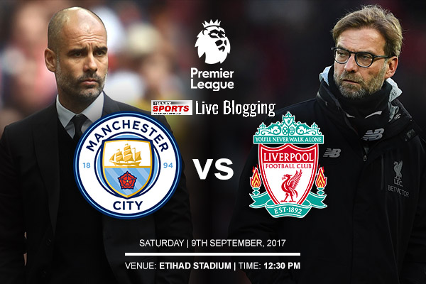 LIVE BLOGGING: MANCHESTER CITY vs LIVERPOOL