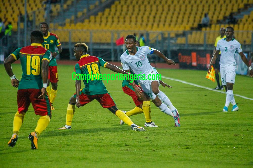 Mikel: One Point Against Cameroon Not Bad, We Wanted Three
