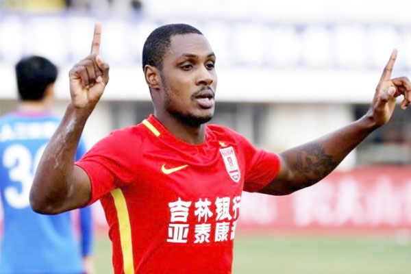 China: Ighalo Scores Again, Mikel Cautioned As Changchun Thrash Tianjin