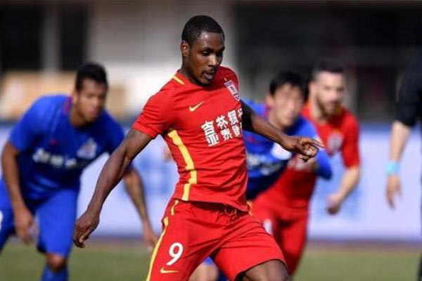 CSL: Ighalo in Action, Martins Absent  As Changchun Yatai, Shenhua Draw In League Opener