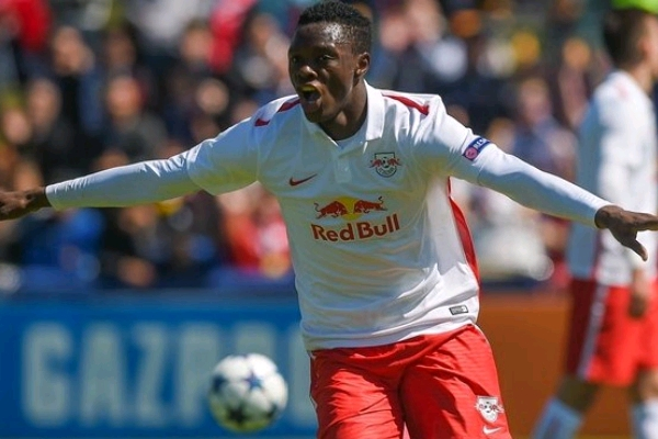 Zambia Striker Daka Scores For Salzburg In Austrian Cup Match