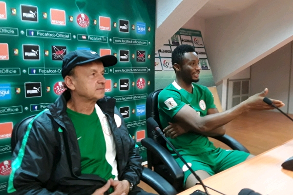 Rohr: Super Eagles Ready To Silence Yaounde Crowd