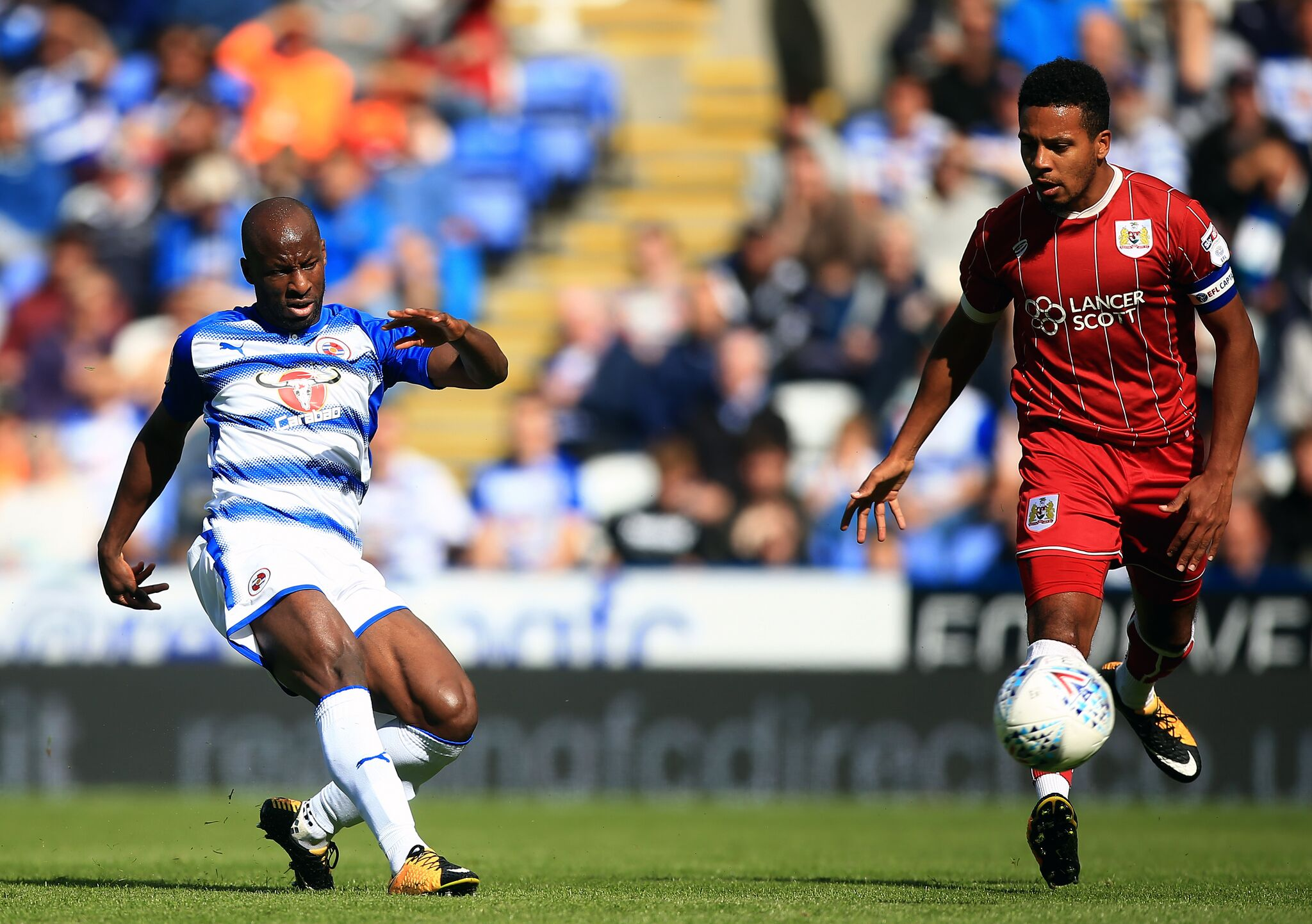 Aluko Relishes Reading's Away Draw At Brentford