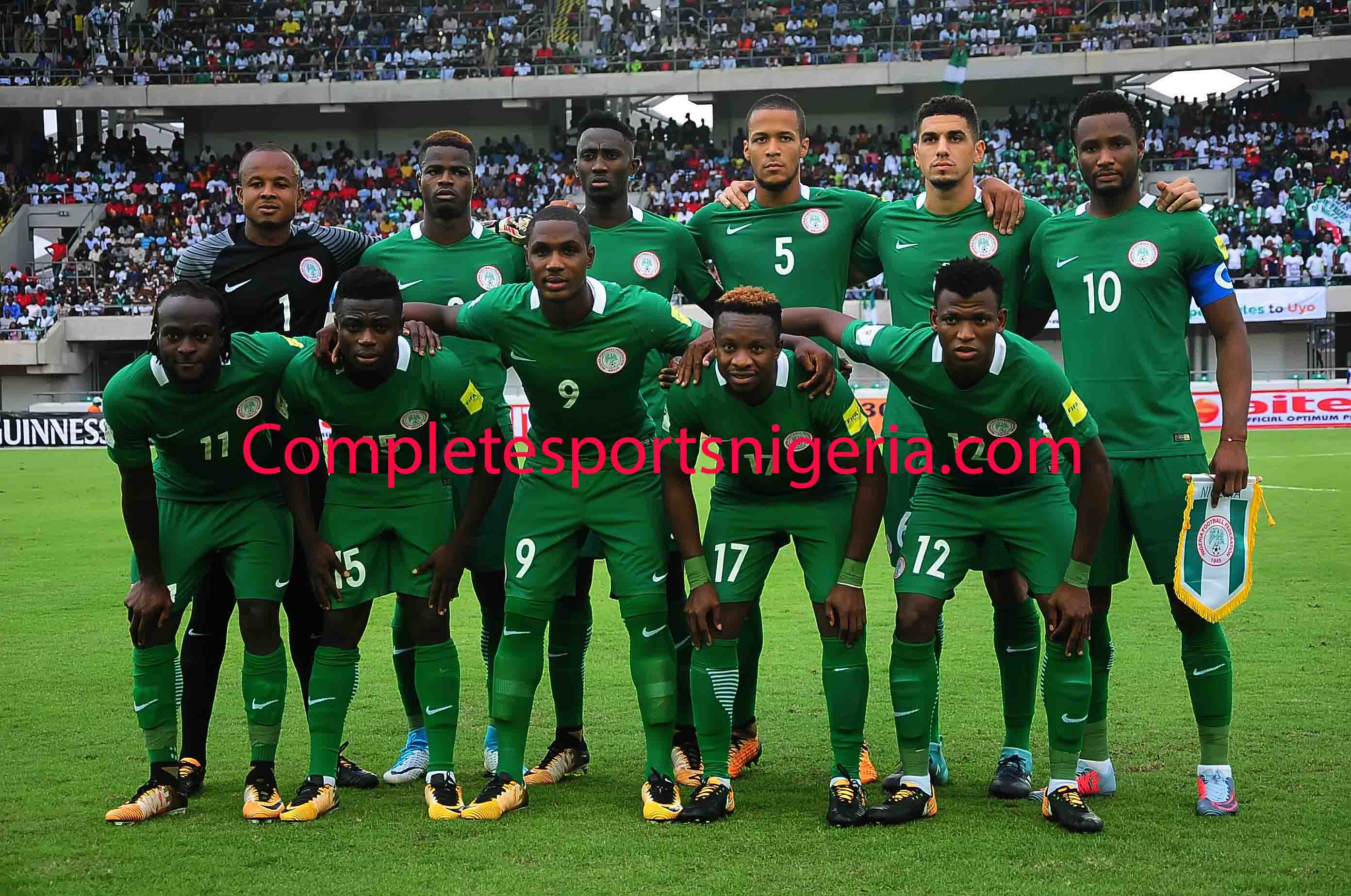 Super Eagles To Train At 7pm Tonight, Stay At Hilton Yaounde