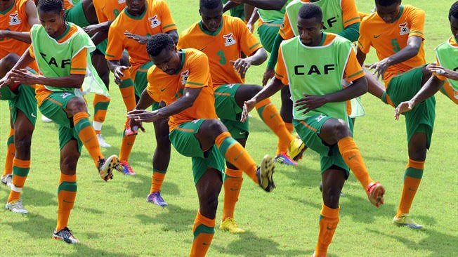 Zambia Begin Training For Nigeria Clash With 21 Players