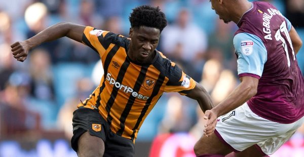 New Super Eagle Aina Nominated As Hull's Best Player Vs Reading