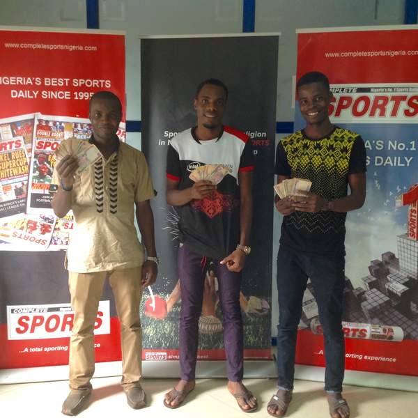 Cameroon-Nigeria Predict & Win: Complete Sports Readers Smile Home With Cash Prizes